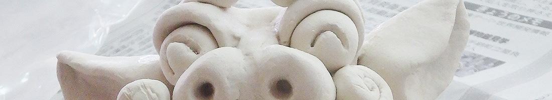 A11 粘土シーサー作り体験