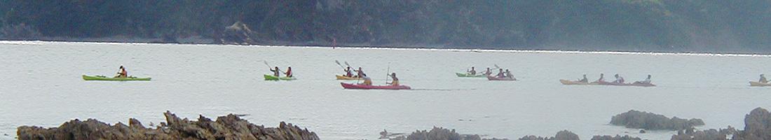 A2 慶佐次湾シーカヤックとマリンクラフト
