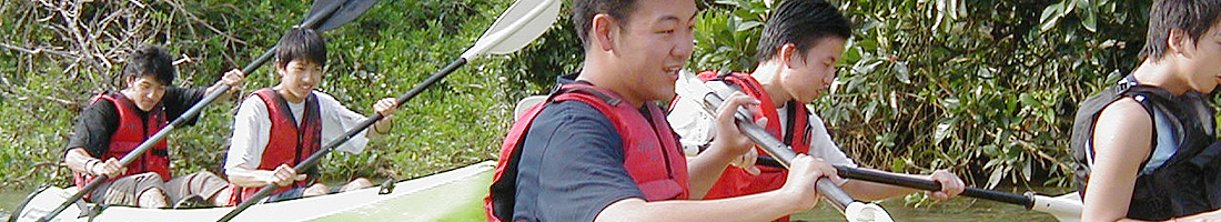 A3 慶佐次川マングローブ観察とカヌー体験(終日コース)