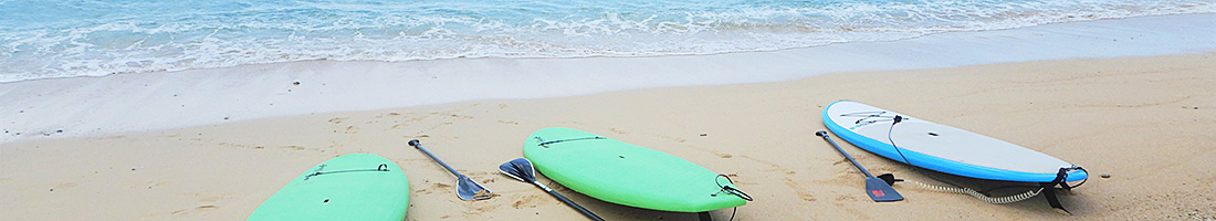 夏限定!東村が誇るキレイな海でSUP体験!